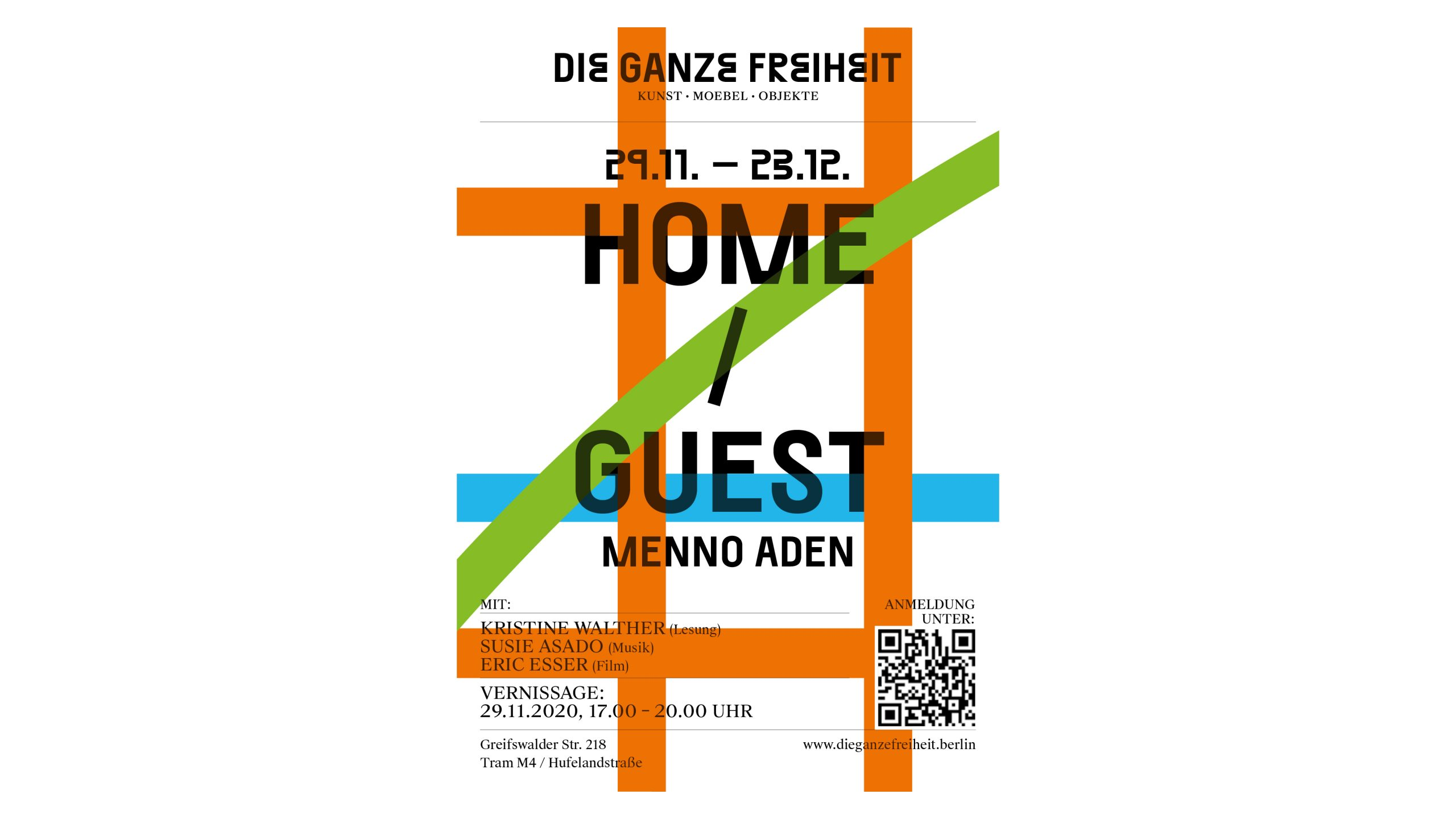 HOME-GUEST_Menno Aden_Gallery Die Ganze Freiheit_Berlin